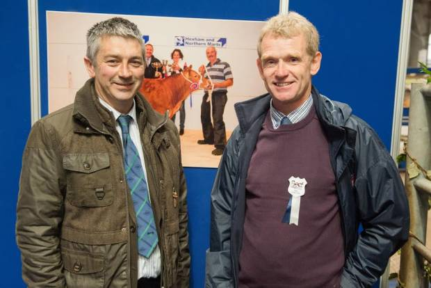 Ernie Ritchie and Stephen Heenan, Organisers of the NI Beef Expo Tour