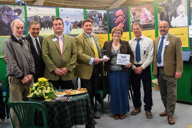 Breed Society Stand Winners - Aberdeen Angus