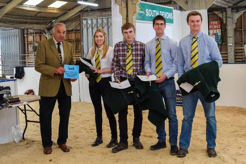 Future Beef Farmer Team Awards: Second -