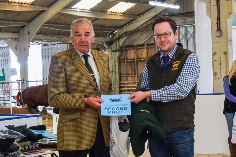 Future Beef Farmer Awards: Second -