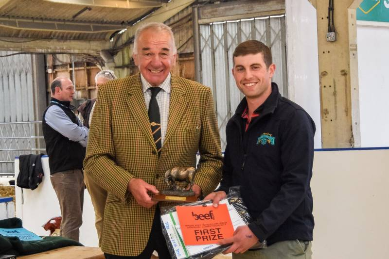 Future Beef Farmer Awards: First -