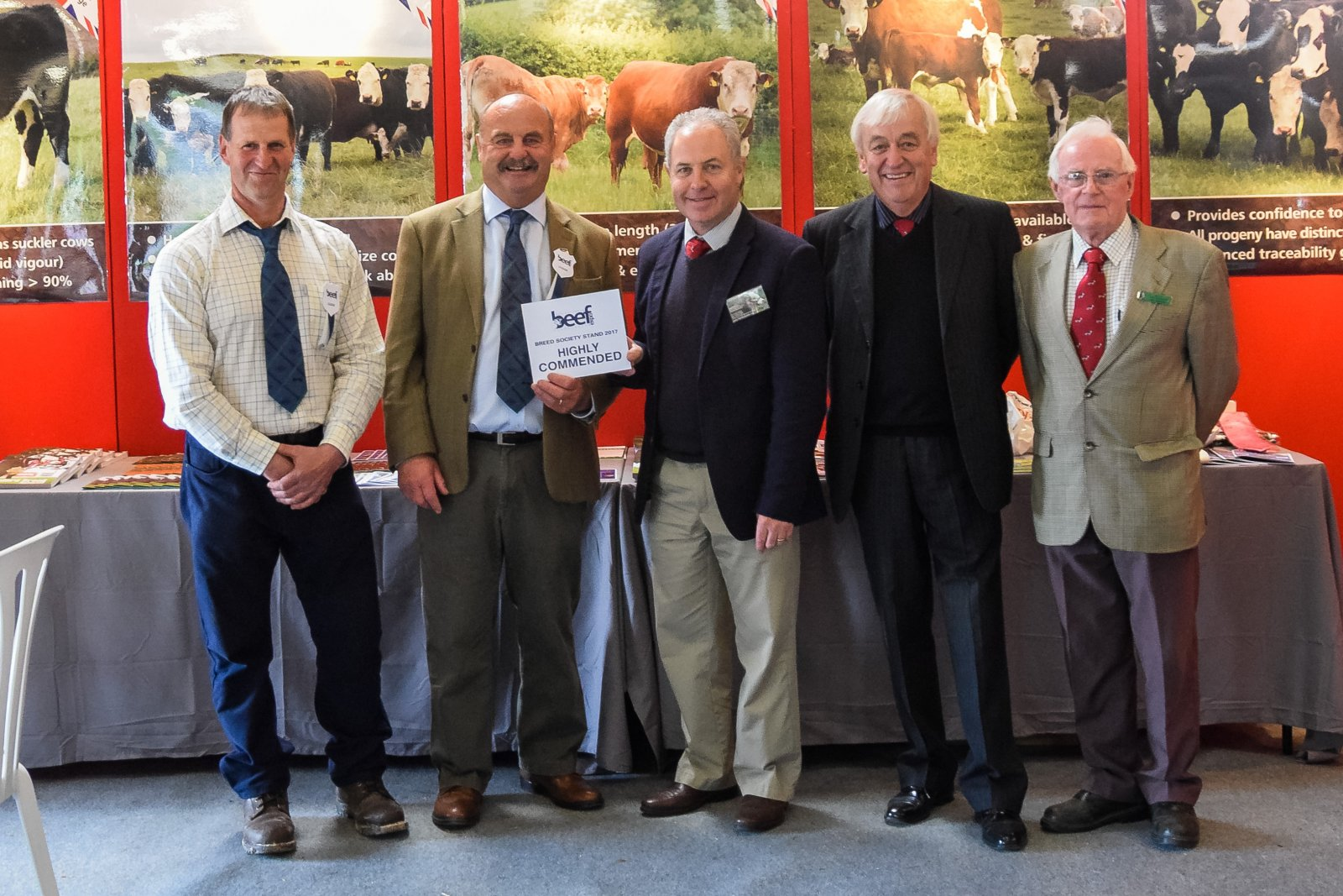 Breed Society Stand Runners Up - Herefords