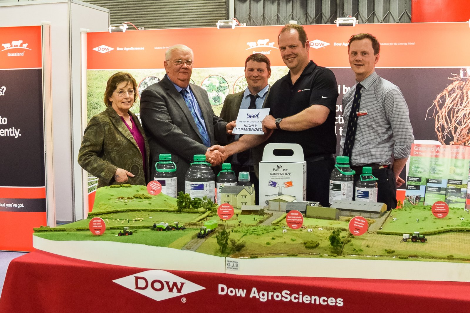 Indoor Trade Stand - Second Place: Dow Agri Services