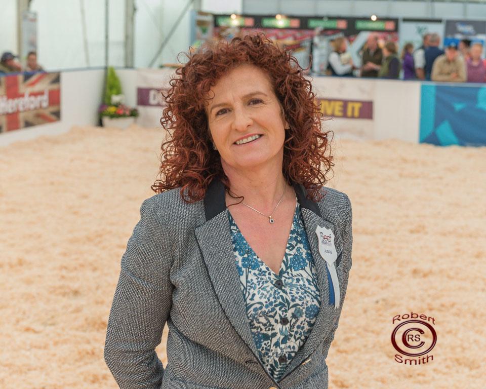 Baby Beef Cattle Judge - Christine Williams