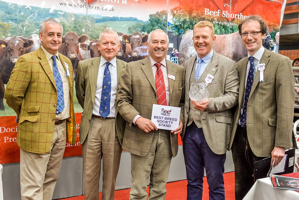 Best Breed Society Stand NBA Beef Expo York 2015