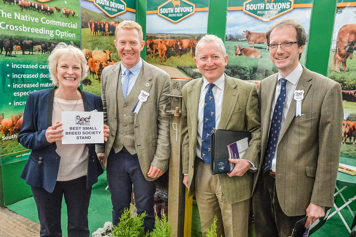 South Devon Best small breed stand NBA York 2015